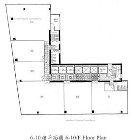 英皇集团中心 -标准平面图