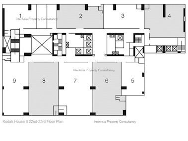 柯达大厦二期 -标准平面图