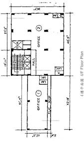 德和大厦 -标准平面图