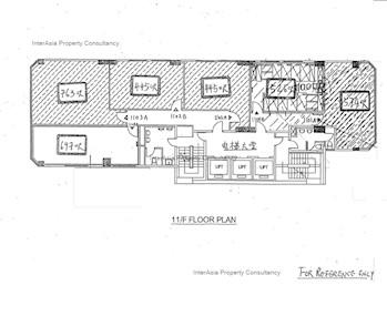 南岛商业大厦 -标准平面图