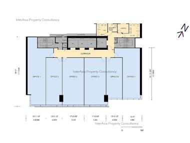 建生商业中心 -标准平面图