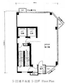 经信商业大厦 -标准平面图