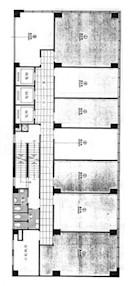 兴业商业中心 -标准平面图