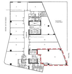 8号商业广场 -标准平面图