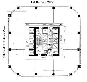 万国宝通中心 -标准平面图
