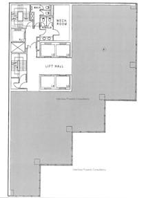 律敦治大厦 -标准平面图