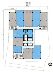 北角城中心 -标准平面图