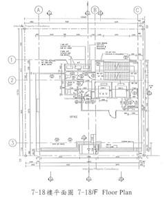 澳门逸园中心 -标准平面图