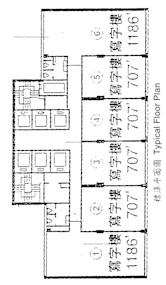 成基商业中心 -标准平面图