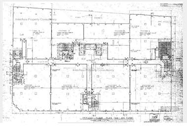 龙翔工业大厦 -标准平面图