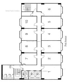 盈丰商业大厦 -标准平面图
