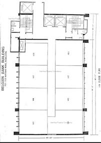 华比银行大厦 -标准平面图