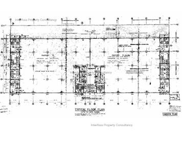 香港纱厂工业大厦5期 -标准平面图