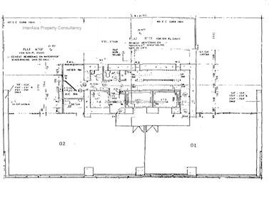 华懋世纪广场 -标准平面图