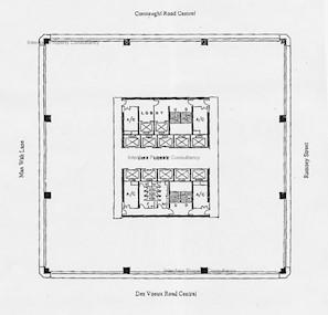 永安中心 -标准平面图
