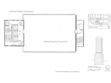 印刷行 -标准平面图