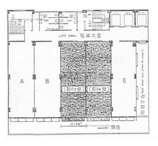 通用商业大厦 -标准平面图