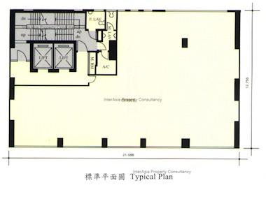 天乐广场 -标准平面图