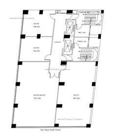 裕昌大厦 -标准平面图