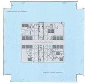 环球贸易广场 -标准平面图