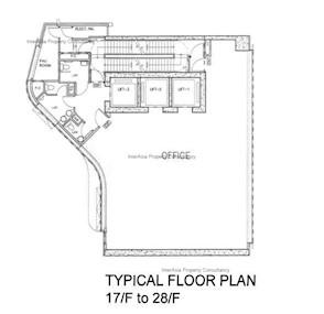 皇后大道中心 -标准平面图