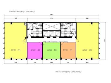 东宁大厦 -标准平面图