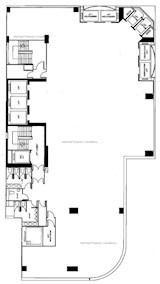 铜锣湾广场2期 -标准平面图