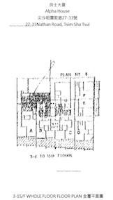良士大厦 -标准平面图