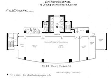 罗氏商业广场 -标准平面图