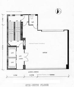 柯士甸商业中心 -标准平面图