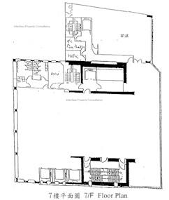 铜锣湾广场1期 -标准平面图