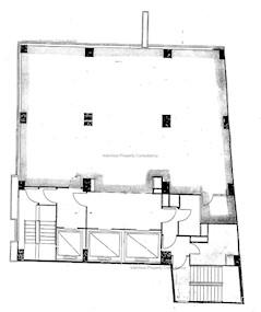 大新人寿大厦 -标准平面图