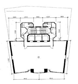 云咸商业中心 -标准平面图