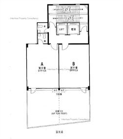 安隆商业大厦 -标准平面图