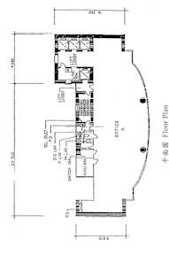 三湘大厦 -标准平面图