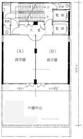 金钟商业大厦 -标准平面图