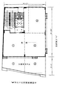 鸿德大厦 -标准平面图