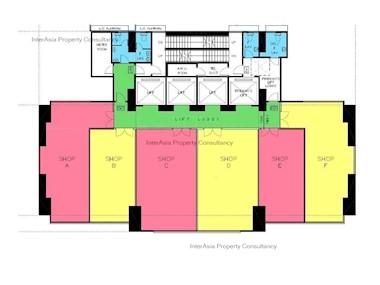 英皇锺表珠宝中心 -标准平面图