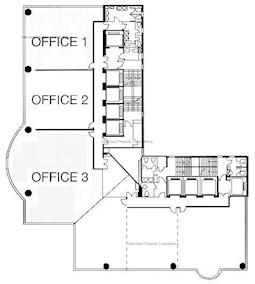 万通保险大厦 (美国万通大厦) -标准平面图