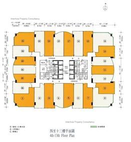 南丰商业中心 -标准平面图