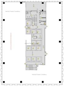 富通中心 -标准平面图