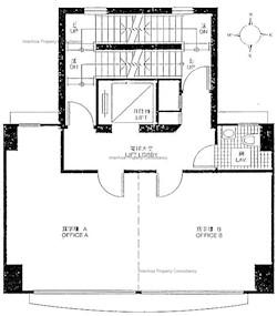 秀华商业大厦 -标准平面图