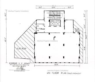 恒隆大厦 -标准平面图