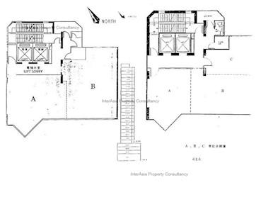 豫港电力发展大厦 -标准平面图