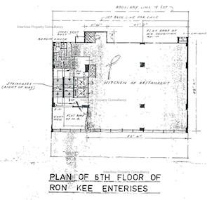 龙记大厦 -标准平面图