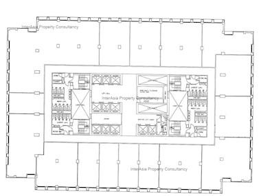 太子大厦 -标准平面图