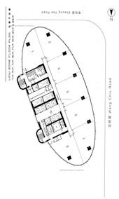 企业广场三期 -标准平面图