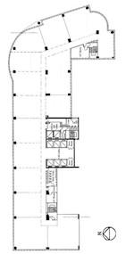 新东海商业中心 -标准平面图