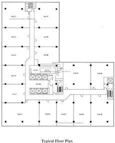 永安广场 -标准平面图