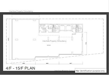 金锋大厦 -标准平面图